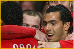 Rooney & Tevez