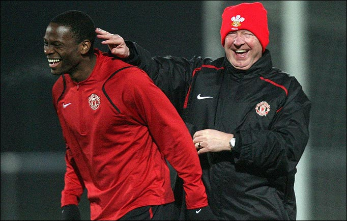 Sick Note Saha off to Goodison.....has Fergie got it right?