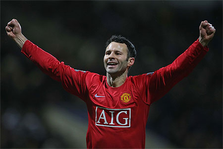 Ryan Giggs for BBC Sports Personality of the Year