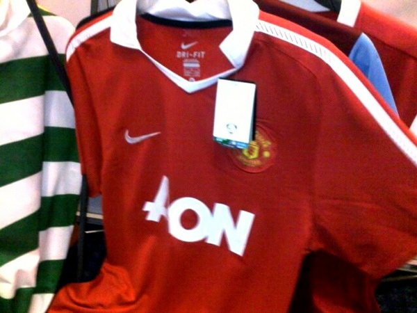 New home shirt for 2010/11