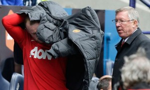 Rooney gets his coat. Will he be getting it for good in January?