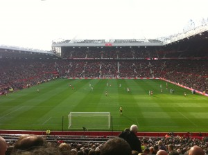 United at 2-0 up.. it wasn't to last