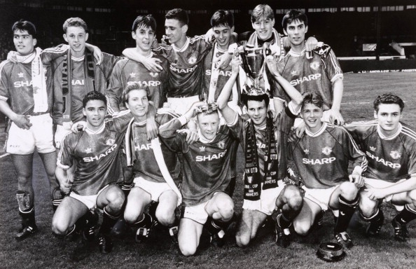 Manchester United youth, 1992