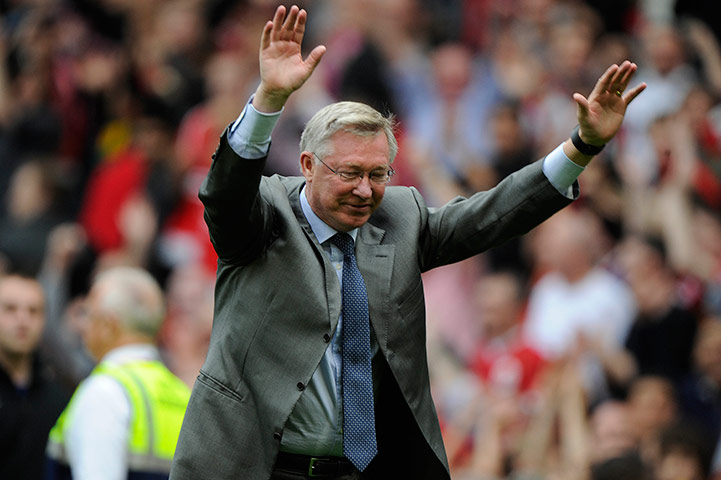 Fergie bows down to the Stretford End