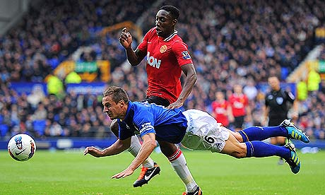 Danny Welbeck versus Everton