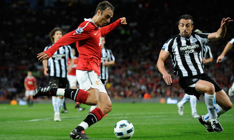 Berbatov vs Newcastle