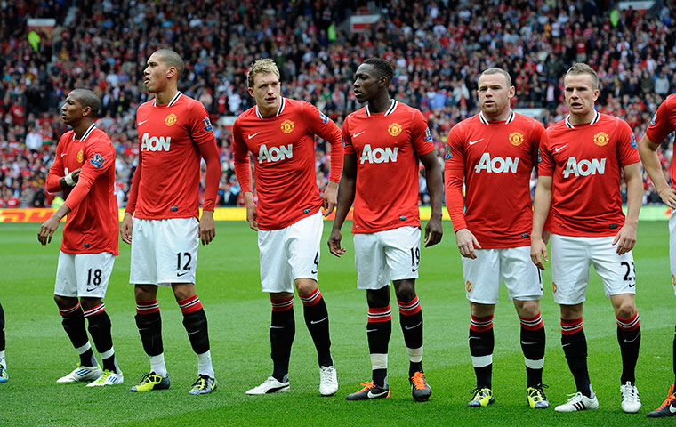 Man United players