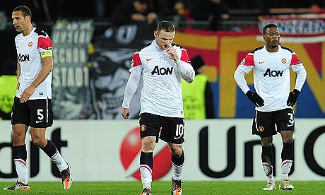 Manchester United lose to Basel