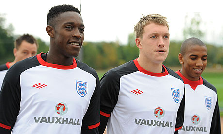 Welbeck, Jones and Young