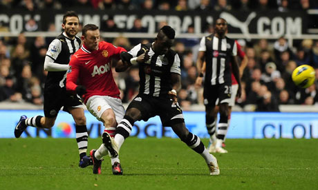 Rooney vs Tiote
