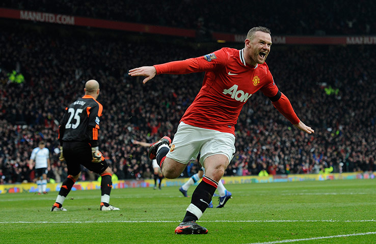Wayne Rooney becomes United&#039;s 4th top goalscorer