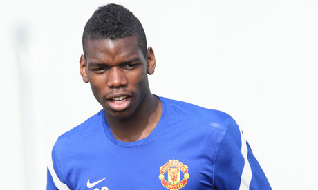 Paul Pogba has been linked with a move to Juventus