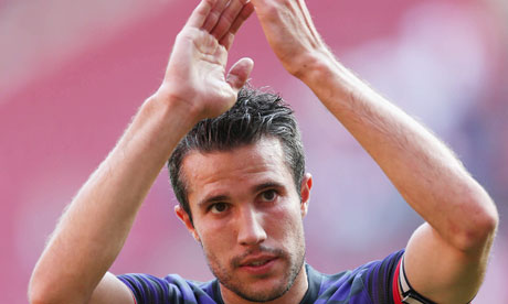 Robin van Persie - the Arsenal perspective