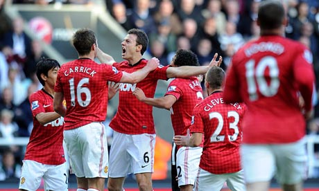 Newcastle United 0-3 Man United: Fergie's new system works a treat!