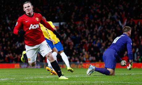 Manchester United v Southampton: Wayne Rooney