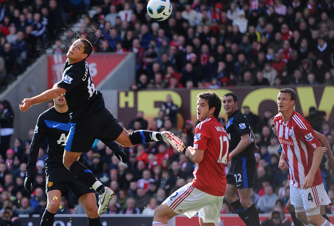 Chicharito scored a brilliant headed winner at Stoke in 2010. Will he have a similar impact tomorrow?