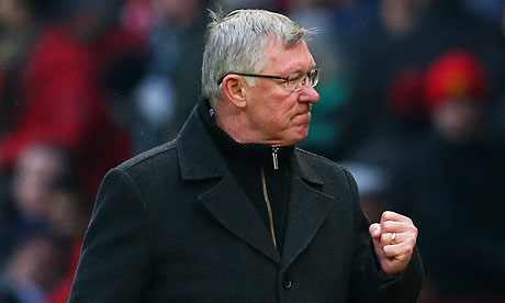 Sir Alex Ferguson: champion supreme