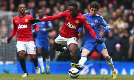 Manchester United take on Chelsea at Stamford Bridge