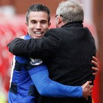 Stoke City 0-2 Manchester United: van Persie celebrates in style