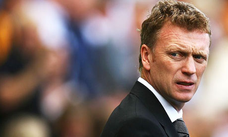 David Moyes is Manchester United's new manager
