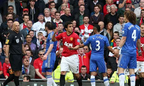 david luiz rafael sending off