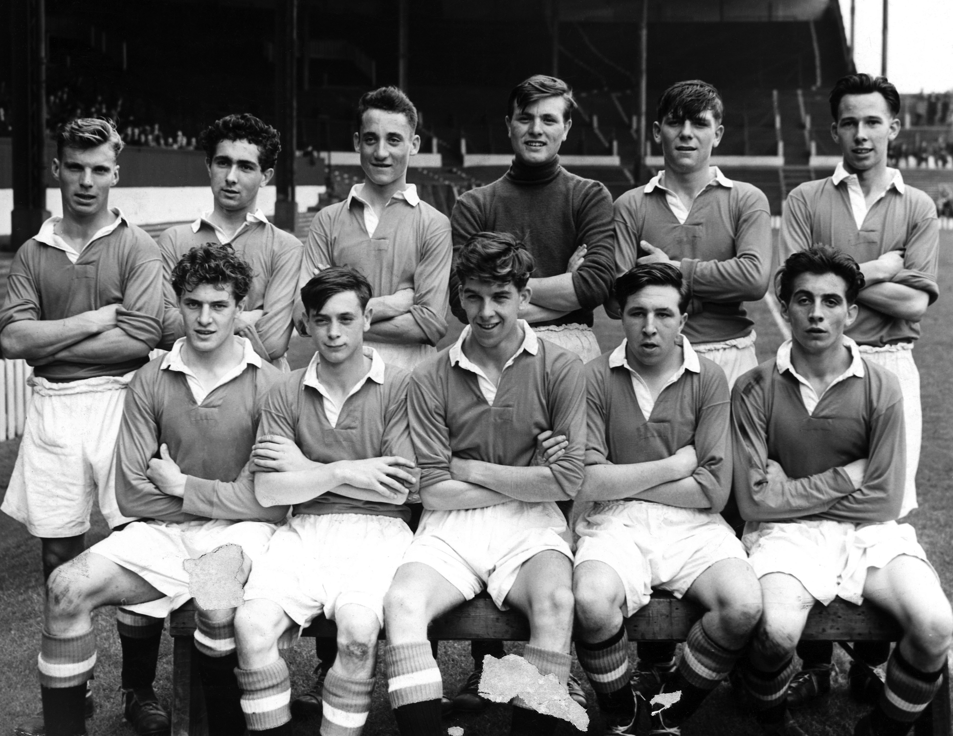 Manchester United?s youth team, England, c 1950s.