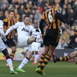 Manchester United vs. Hull City view from the oppo