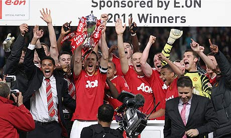 Manchester United were 2011 FA Youth Cup winners