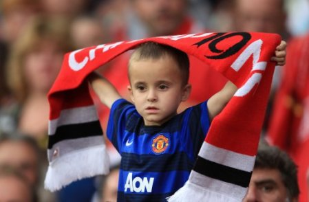 Young Manchester United fan