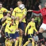 Manchester United vs. Sunderland view from the opposition
