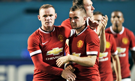 Wayne Rooney and Tom Cleverley