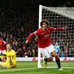 Manchester United 2-1 Stoke City: Marouane Fellaini scores