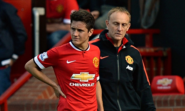 Ander Herrera has recovered from a rib injury and he may be able to play in a corset.