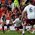 Manchester United 3-1 Aston Villa: Rooney & Herrera sink Villa