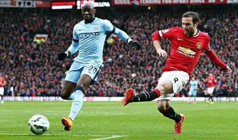 Manchester United thrash City rivals in 4-2 spanking