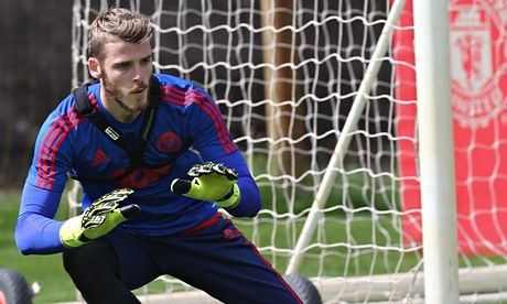 David-de-Gea-training
