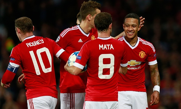 Memphis Depay hits two goals as United beat Club Brugge