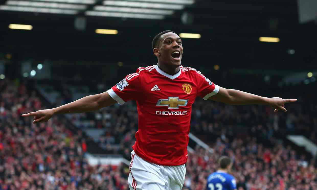 Anthony Martial strike is difference between United & Everton