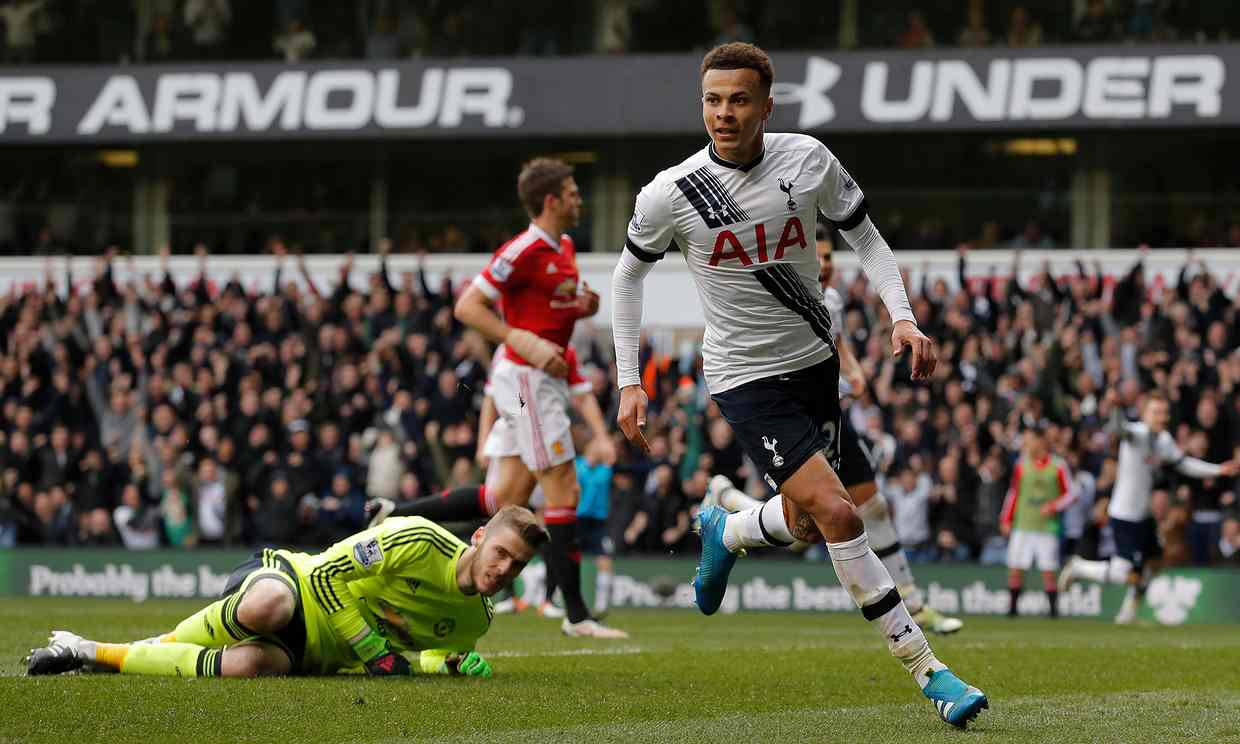 United capitulate as Spurs run riot in 3-0 victory