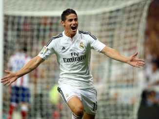 Real Madrid star James Rodriguez