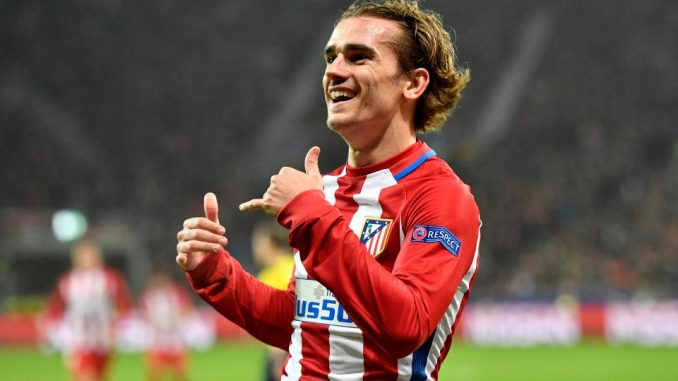 Atletico Madrid attacker Antoine Griezmann