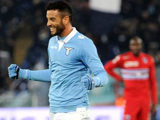 Lazio attacking midfielder Felipe Anderson