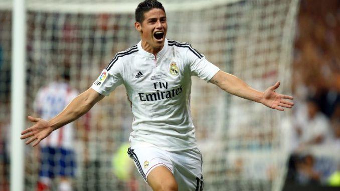 Real Madrid star James Rodriguez