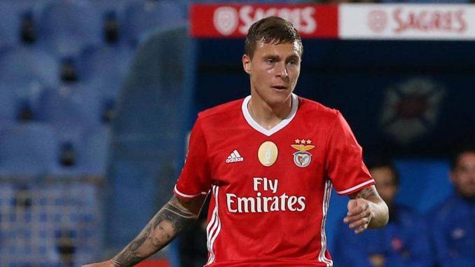 Benfica defender Victor Lindelof