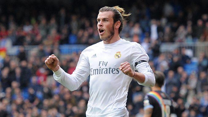 Real Madrid attacker Gareth Bale